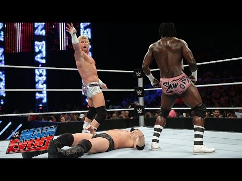 R - Five days before their Intercontinental Championship Match, The Miz and Dolph Ziggler square off in a tag team re-match from Raw.