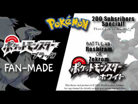 pokemon black and white zekrom vs reshiram