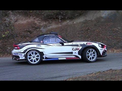 - TEST FIAT 124 RGT+ RALLYE DU VAR - CIAMIN - CHECKPOINTRALLYE -