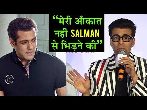 Karan Johar SPEAKS On Salman Khan's Race 3 And Lus