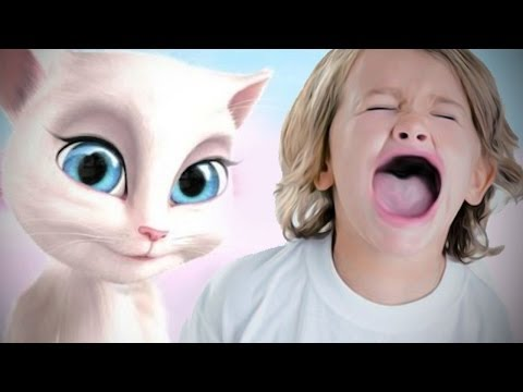 GAME BANNED FROM KIDS? - Talking Angela