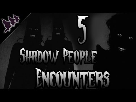 5 Chilling Shadow People Encounters | Creepy Collection
