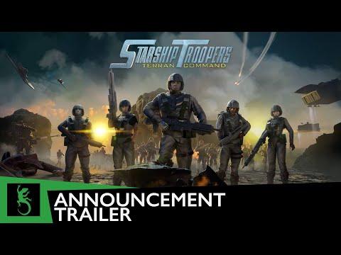Trailer d'annonce de Starship Troopers: Terran Command