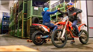 6. Moto Hooligans - KTM SMR 450 - EXC 125 on the Vee Rubber Company