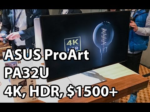 , title : 'ASUS ProArt PA32U - 4K, HDR, IPS, 1000 nits, $1500+'