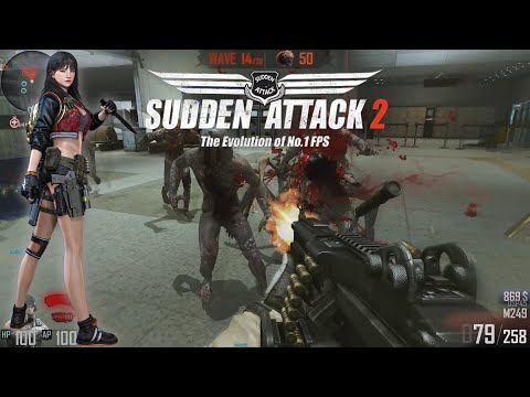 Sudden Attack 2 - Zombie Mode Gameplay