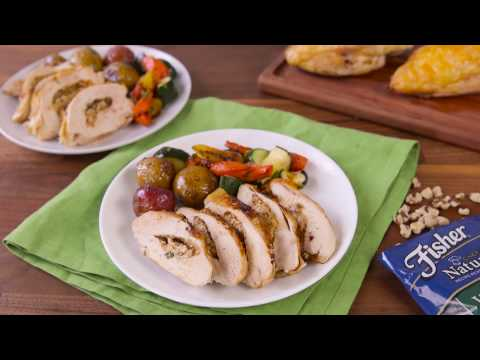 Goat Cheese and Pumpkin Pesto Chicken Recipe