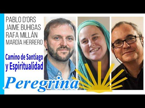 Jaime Buhigas i Pablo d'Ors van presentar 'Peregrina', de Mardía Herrero, a Youtube