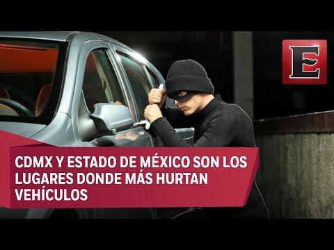 El robo de autos en México creció 14% durante el 2016
