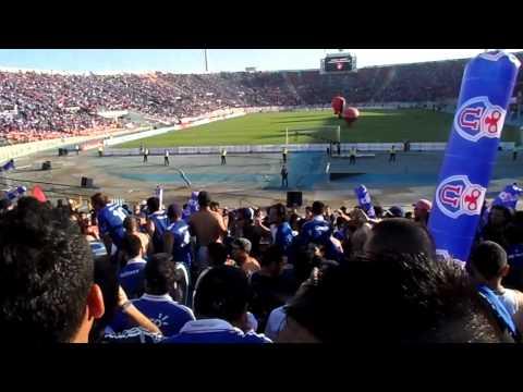 Video - Entrada Los de Abajo - La Banda del Búho / U de Chile Vs Liga / Final Sudamericana 2011 - Los de Abajo - Universidad de Chile - La U - Chile