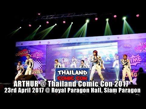 การแสดง Cover จากวง ARTHUR ในงาน Thailand Comic Con 2017