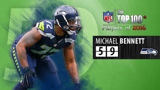 #59: Michael Bennett (DE, Seahawks) | Top 100 NFL Players of 2016 by NFL