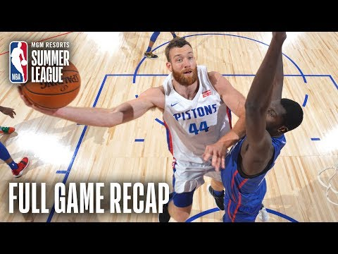 Video: 76ERS vs PISTONS | Bruce Brown Notches Triple-Double In Big Win | MGM Resorts NBA Summer League