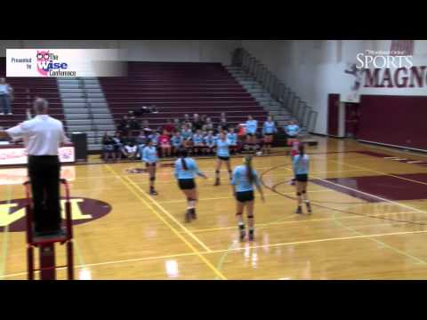 The Woodlands vs. Lumberton Volleyball Highlights