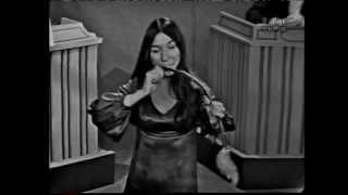 """Singer Buffy Sainte-Marie appears as a contestant in this segment from a 1966 episode of """"To Tell the Truth"""" with host Bud Collyer and panelists Tom Poston, Peggy Cass, Orson Bean, and Kitty Carlisle.After the game she describes and plays a short piece on the """"mouth bow"""", and also performs her song """"Until It's Time for You to Go"""".It might seem a little odd that she wasn't recognized by the panel but this was at a time when the faces of popular musicians and even sports figures still weren't routinely familiar to the public."""