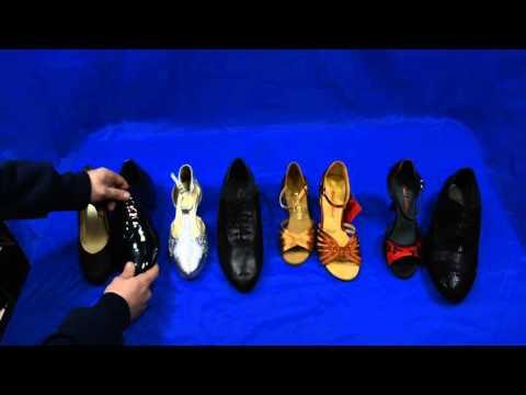 tipologie di calzature da ballo