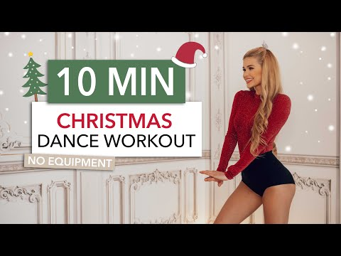10 MIN CHRISTMAS DANCE WORKOUT - that's a 10/10 for happiness / Sweaty Version I Pamela Reif