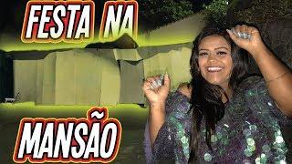 FESTA NA MANSÃO DE PAPELÃO!!! (BOX FORT)