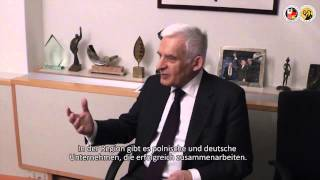 Der Präsident des Europäischen Parlament Herr Professor Jerzy Buzek