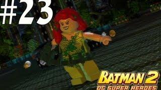 Lego Batman 2 - Unlocking Poison Ivy And Hawk Girl