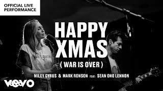 Miley Cyrus, Mark Ronson ft. Sean Ono Lennon -