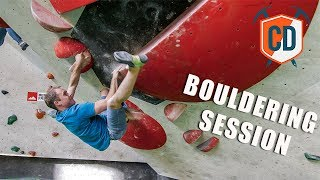 Matt Has A Bouldering Session At The Blockhelden Gym | Climbing Daily Ep.1535 by EpicTV Climbing Daily