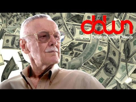 Stan Lee suing for $1-billion! * And MORE in this DAILY DOSE OF WEIRD NEWS! #DDWN