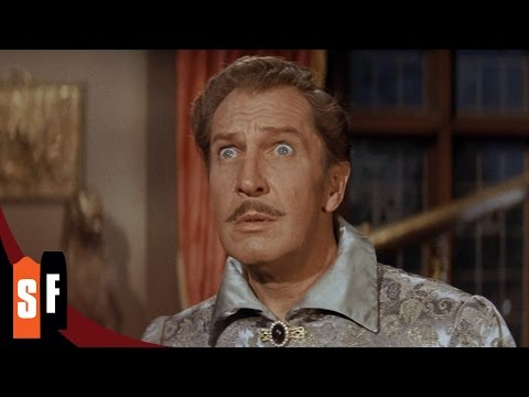 The Raven - Vincent Price (1/1) Dark Winged Messenger From Beyond (1963) HD