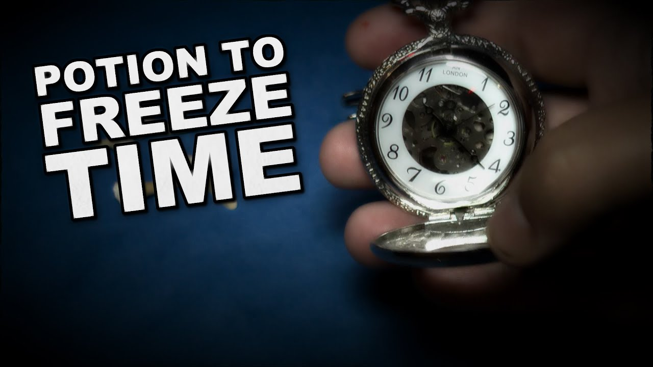 How To Make A Potion To Freeze Time