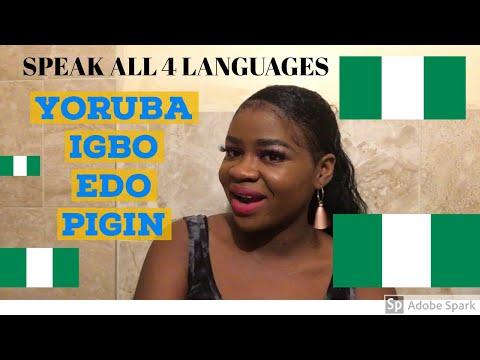 TESTING NIGERIAN LANGUAGES - Yoruba/ Igbo/ Edo/ Pigin