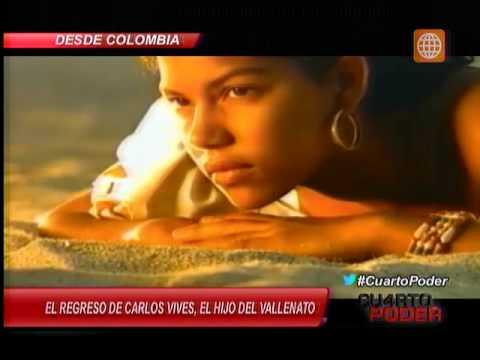 El regreso de Carlos Vives, el hijo del vallenato