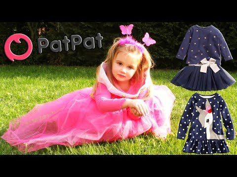 HAUL PatPat : un colis rempli d'habits et déguisement de princesse ! Kid's clothes (Unboxing)