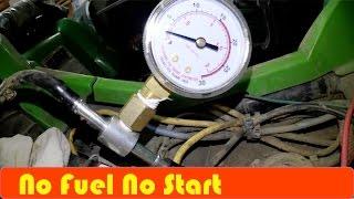 5. ATV How To Check fuel Pressure DIY