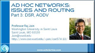 Ad Hoc Networks: Issues and Routing: Part 3: DSR, AODV