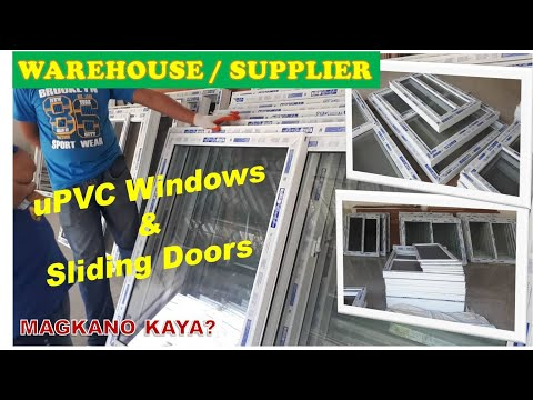 PVC WINDOWS AND SLIDING DOORS WAREHOUSE SUPPLIER