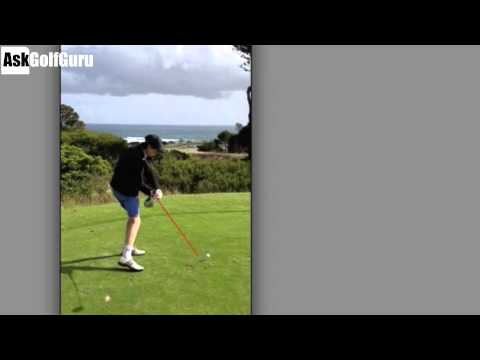 Driver Angle of Attack Golf Lesson