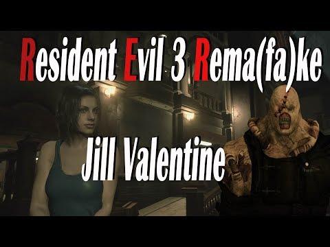 Resident Evil 3 REMA(FA)KE Jill Valentine And Nemesis
