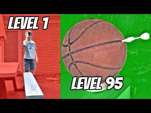 TRICK SHOTS from Level 1 To Level 100