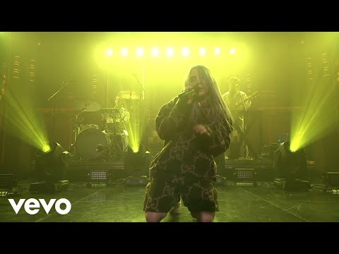 Billie Eilish - bellyache (Live On The Tonight Show Starring Jimmy Fallon / 2018)
