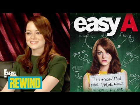 """Emma Stone Raves Over """"Easy A"""" in 2010: Rewind 