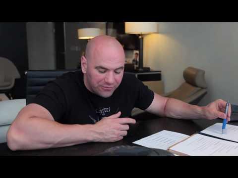 Dana White WEC 48 Aldo vs Faber Video Blog 2
