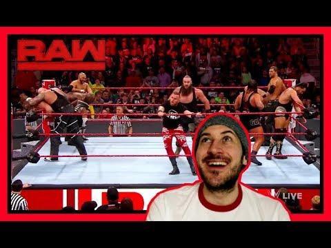 Reaction | BRAUN STROWMAN WINS TAG TEAM BATTLE ROYAL | WWE RAW March 12, 2018