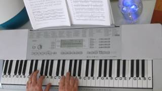 "LetterNotePlayer © ~  For free download of .pdf with the Piano Letter Notes & bass progression, go to: http://www.LetterNotePlayer.com/    Tutorial shows how to play the vocal melodies, with bass notes, as harmony for  ""It Might Be You""  by Stephen Bishop - on piano / keyboard, in the original key.     This tutorial  demonstrates the LH bass  notes, introduction arpeggios  & chords.  Demo uses a Piano Pad - sound setting on the keyboard.  If you want to play  ""It Might Be You"" this video makes it accessible; perhaps having you play most of it in just a few minutes.  Easily adapted to a ""sing along""    Also - follow me on Twitter - LtrNotePlayer - receive tweets whenever I upload a new video. If you subscribe to my channel you will automatically receive notices every time I upload a tutorial - I upload quite often - always a requested song."