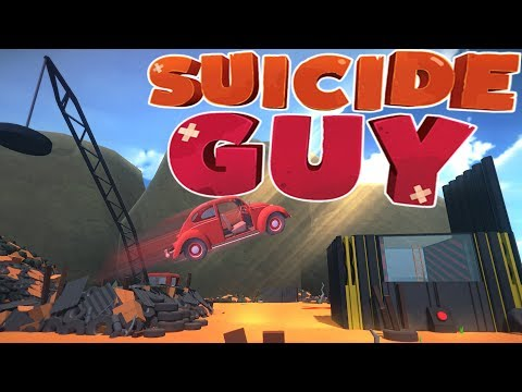 Suicide Guy - JUNK YARD VEHICLE JUMPING - Becoming A Wizard - Suicide Guy Gameplay Highlights
