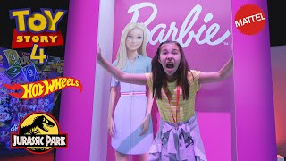 TRAPPED IN A BARBIE BOX!!! Toy Story 4, Hot Wheels, Jurassic Park, Breakout Beasts + More!