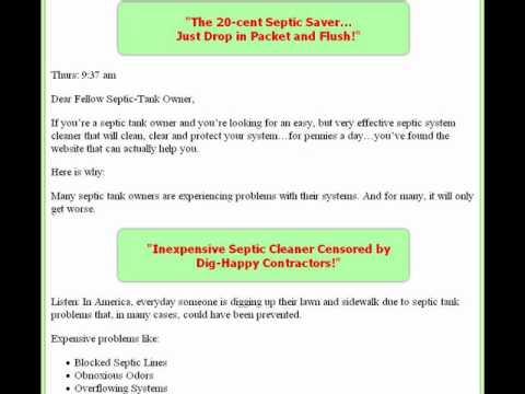 Septic Tank Clean