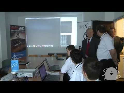 Mayor of Budapest visits Team Puli's MARS2013 Mission Control Center