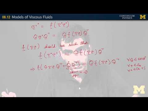 08.12. Models of viscous fluids