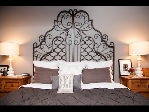 Cabezales de cama originales videos videos - Cabeceros forja modernos ...