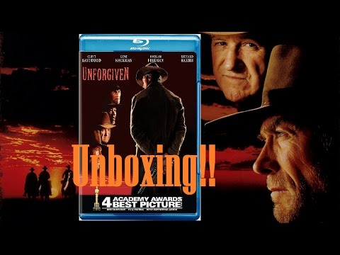 Unforgiven Blu Ray Unboxing!!